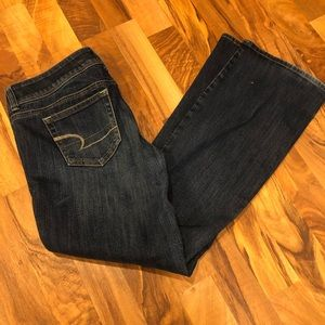 American eagle slim boot cut jeans size 8